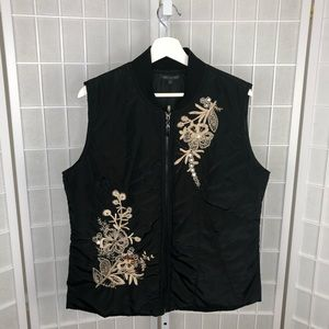 For Cynthia Embroidered Women's Vest